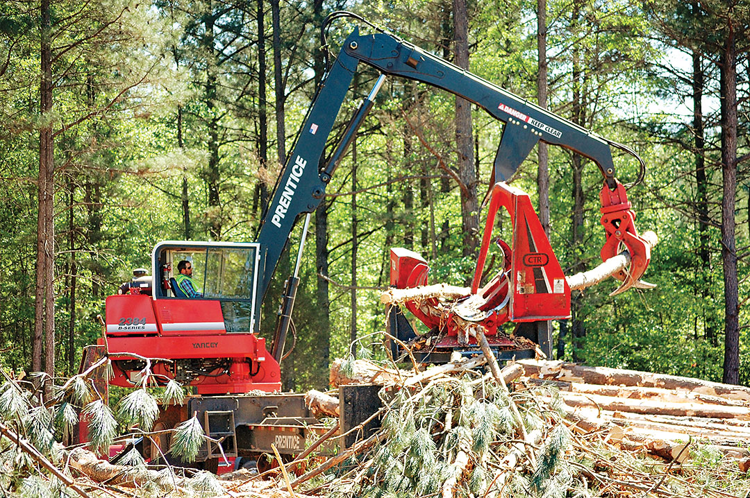Cantrell Forest Products   In The Right Place…