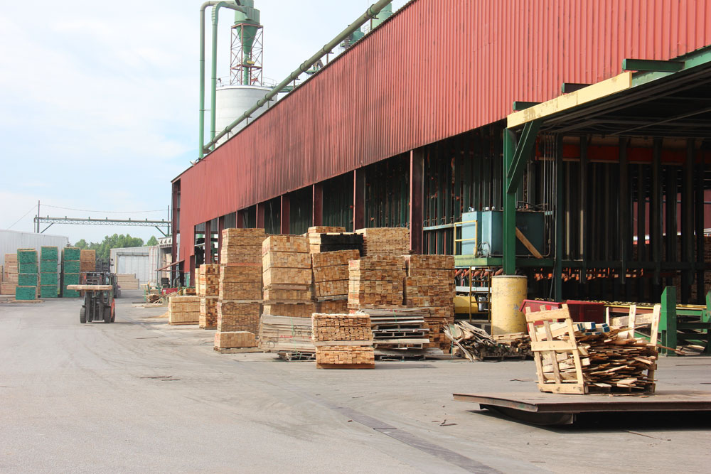 Battle Lumber Company | New Sawmill