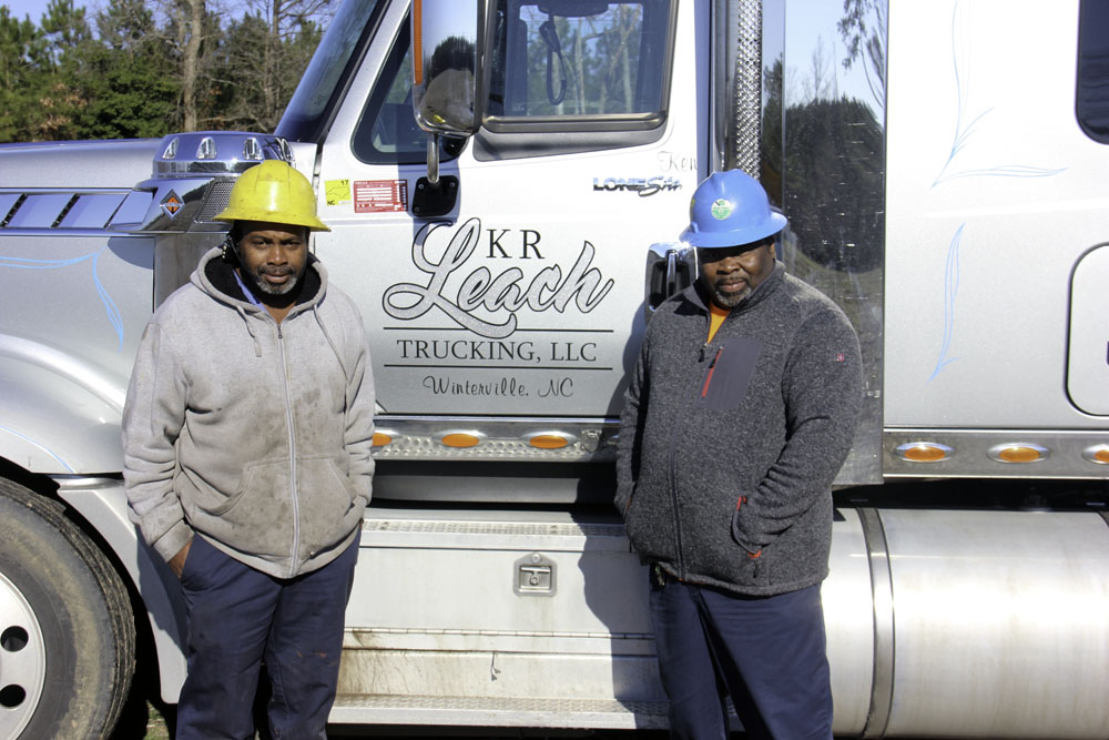 Leach's Timber Thinning   Business Brothers