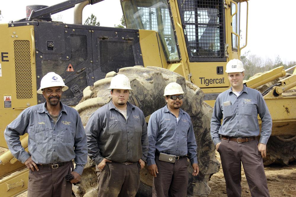 Lawrence P. Dugger Logging | Lending A Hand