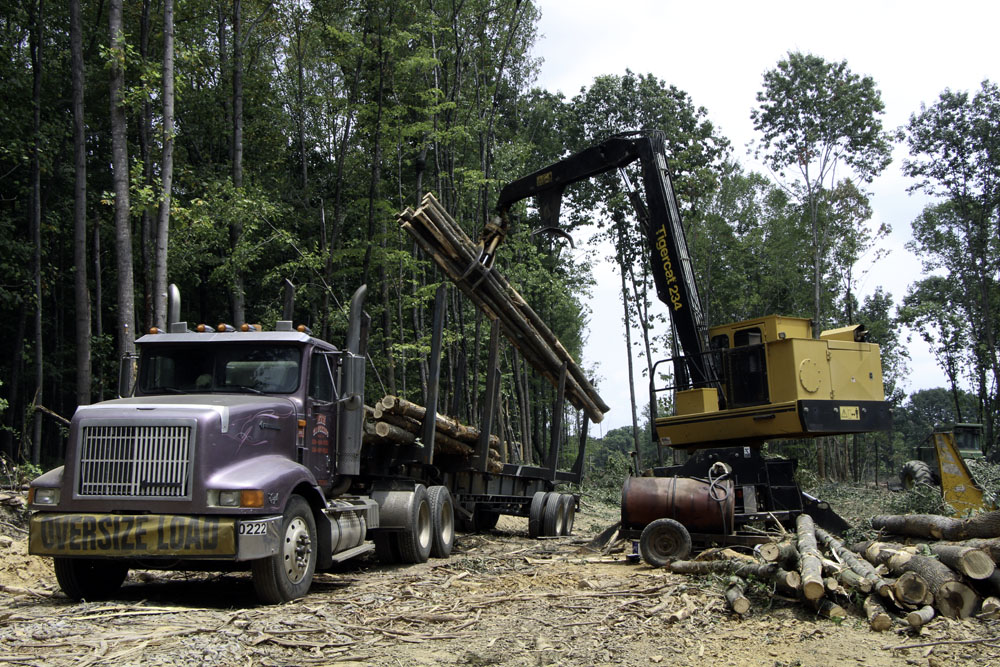 Huffman and Son Logging   Switching Gears